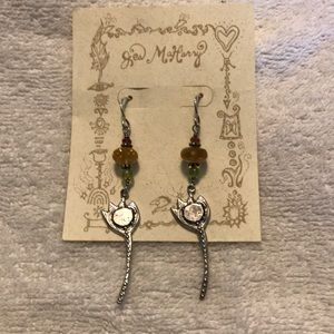 Jes Maharry Flower Earrings